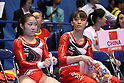 Rie Tanaka,Koko Tsurumi (JPN), JULY 2nd, 2011 - Artistic gymnastics : Japan Cup 2011 Women's Team Competition Uneven Bars at Tokyo Metropolitan Gymnasium, Tokyo, Japan. (Photo by YUTAKA/AFLO SPORT) [1040].