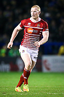 Picture by Alex Whitehead/SWpix.com - 09/03/2017 - Rugby League - Betfred Super League - Warrington Wolves v Wigan Warriors - Halliwell Jones Stadium, Warrington, England - Wigan's Liam Farrell in action.