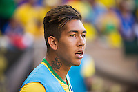 HARRISON, NJ - Friday September 4, 2015: The Brazilian National Team defeats Costa Rica 1-0 at Red Bull Arena.  Brazil will also play the United States National Team as they continue their Brazil Global Tour presented by Chevrolet.