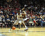Ole Miss' Terrance Henry (1) is fouled by Mississippi State's Rodney Hood (4) at the C.M. &quot;Tad&quot; Smith Coliseum in Oxford, Miss. on Wednesday, January 18, 2012. Mississippi won 75-68. (AP Photo/Oxford Eagle, Bruce Newman).