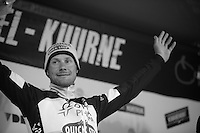 top podium spot for race winner Tom Boonen (BEL)<br /> <br /> Kuurne-Brussel-Kuurne 2014