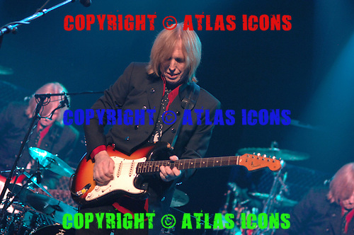 TOM PETTY AND THE HEARTBREAKERS, Live, In New York City,.Madison Sqare Garden, June 20, 2006. .Photo Credit: Eddie Malluk/Atlas Icons.com