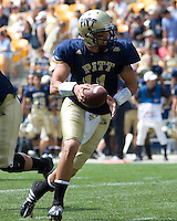 August 30, 2008: Pitt quarterback Bill Stull..The Bowling Green Falcons defeated the Pitt Panthers 27-17 on August 30, 2008 at Heinz Field, Pittsburgh, Pennsylvania.