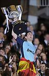 Fussball Copa del Rey Finale 2011: FC Barcelona - Real Madrid