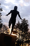 Statue of Olympic runner Harry Jerome in Stanley park., Vancouver, Canada