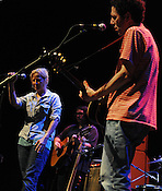 SEPTEMBER 7, 2012: Yo La Tengo at Memorial Auditorium. Night two, Hopscotch 2012. (photo by Kim Walker, kimwalkerphoto.com)