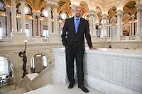 Slug: UMUC / Chris Carpenter.Date: 05-10-2011.Photographer: Mark Finkenstaedt.Location: The Library of Congress, Washington, DC.Caption: UMUC Alumni Chris Carpenter of the Library of Congress