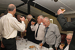 Court Leet Watchet Somerset UK 2014. Drinking a loyal toast with a punch made from a secret receipt. Annually held on the last Thursday in October at the Bell Inn.