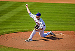 23 February 2013: New York Mets' pitcher Cory Mazzoni on the mound during a Spring Training Game against the Washington Nationals at Tradition Field in Port St. Lucie, Florida. The Mets defeated the Nationals 5-3 in their Grapefruit League Opening Day game. Mandatory Credit: Ed Wolfstein Photo *** RAW (NEF) Image File Available ***