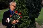 Christopher Lee horror film actor.