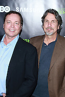 HOLLYWOOD, LOS ANGELES, CA, USA - NOVEMBER 07: Bobby Farrelly, Peter Farrelly arrives at HBO's 'Project Greenlight' Season 4 Winner Announcement held at Boulevard3 on November 7, 2014 in Hollywood, Los Angeles, California, United States. (Photo by David Acosta/Celebrity Monitor)
