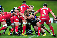 Nick Auterac of Bath Rugby in action. Pre-season friendly match, between the Scarlets and Bath Rugby on August 20, 2016 at Eirias Park in Colwyn Bay, Wales. Photo by: Patrick Khachfe / Onside Images