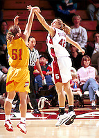 STANFORD, CA - NOVEMBER 21: Lauren St. Clair of the Stanford Cardinal during Stanford's 95-82 win over the Iowa State Cyclones on November 21, 1999 at Maples Pavilion in Stanford, California.