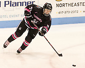 Kendall Coyne (NU - 77) - The Northeastern University Huskies defeated the visiting Providence College Friars 8-7 on Sunday, January 20, 2013, at Matthews Arena in Boston, Massachusetts.