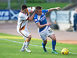 St Johnstone v Bradford City&hellip;19.07.16  McDiarmid Park, Perth. Pre-season Friendly<br />Connor McLaren is fouled by a Bradford City trialist (Agnew)<br />Picture by Graeme Hart.<br />Copyright Perthshire Picture Agency<br />Tel: 01738 623350  Mobile: 07990 594431