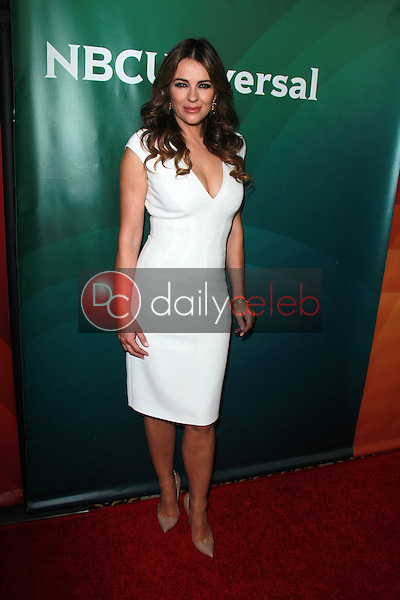 Elizabeth Hurley<br /> at the NBCUniversal's 2015 Winter TCA Tour Day 1, Langham Huntington Hotel, Pasadena, CA 01-15-15<br /> David Edwards/Dailyceleb.com 818-249-4998