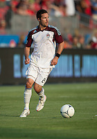 18 July 2012: Colorado Rapids defender Hunter Freeman #2 in action during an MLS game between the Colorado Rapids and Toronto FC at BMO Field in Toronto, Ontario..Toronto FC won 2-1..