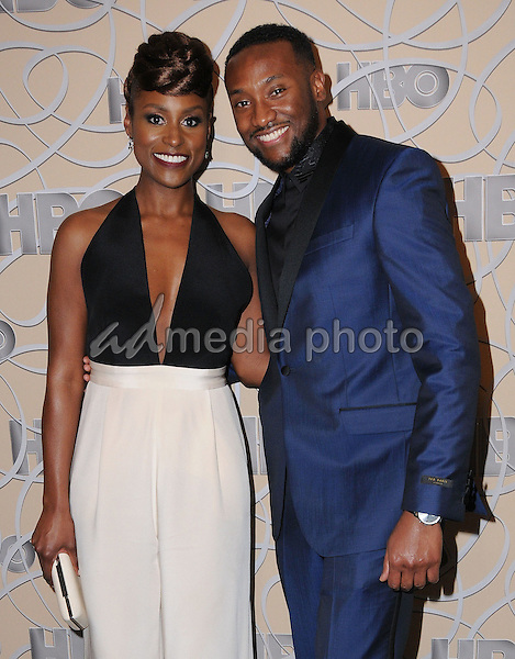 08 January 2017 - Beverly Hills, California - Issa Rae. HBO's Official 2017 Golden Globe Awards After Party held at the Beverly Hilton Hotel Photo Credit: Birdie Thompson/AdMedia