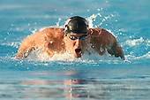 August 2, 2005; Irvine, CA, USA; .Michael Phelps competes in the men's 200m butterfly at the Mutual of Omaha Duel in the Pool swim meet between Team USA and Australia Telstra Dolphins at the Woollett Aquatic Center in Irvine, California.  Phelps finished first with a time of 1:56.38 .  Team USA won the dual meet 190 -102..Mandatory Credit: Photo by Darrell Miho .© Copyright Darrell Miho