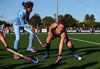 Kelsey Smith of the Blacksticks during the international hockey match between the Blacksticks Women and India, Rosa Birch Park, Pukekohe, New Zealand. Sunday 14  May 2017. Photo:Simon Watts / www.bwmedia.co.nz