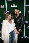 """Singers Adrienne Bailon and RaVaughn Brown Attend Airbnb & Roc Nation Sports """"Roc Nation Sports Celebration"""" Held at The 40/40 Club NY"""