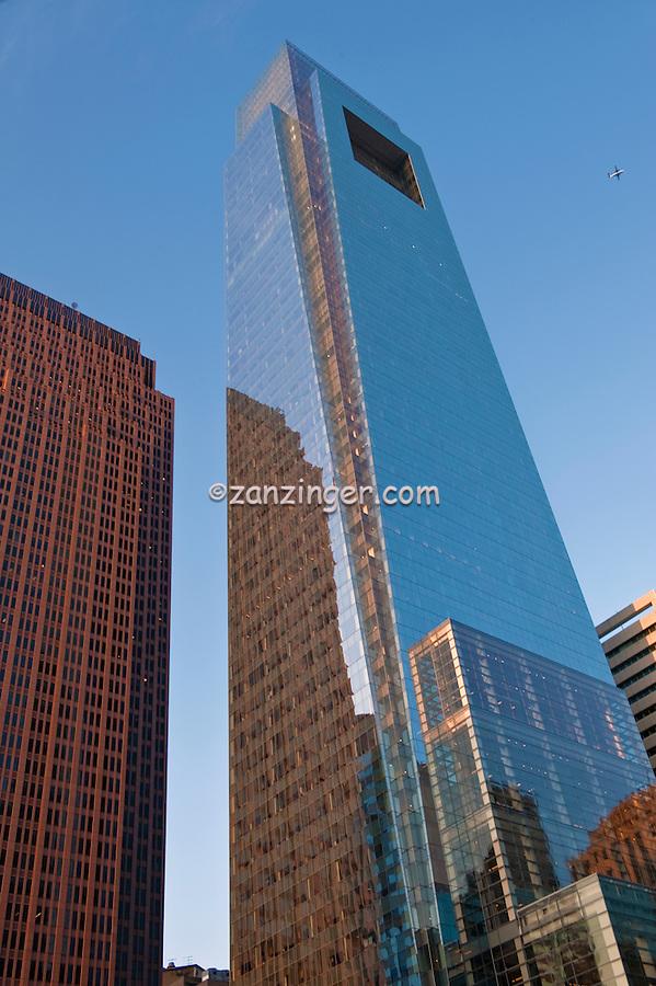 Comcast Center, Bell Atlantic Tower, Downtown, Philadelphia, PA, Penn Center, Market West,  Skyline, Buildings, Skyline Skyscrapers, Pennsylvania,
