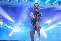 Jennifer Rostock bei Rock im Allerpark 2014 im Allerpark Wolfsburg am 27.June 2014. Foto: Rüdiger Knuth
