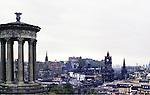 City View Of Edinburgh, Scotland