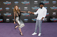 HOLLYWOOD, CA - April 19: Allison Holker, Stephen 'tWitch' Boss, At Premiere Of Disney And Marvel's &quot;Guardians Of The Galaxy Vol. 2&quot; At The Dolby Theatre  In California on April 19, 2017. <br /> CAP/MPI/FS<br /> &copy;FS/MPI/Capital Pictures