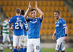 St Johnstone v Celtic&hellip;.McDiarmid Park, Perth.. 11.05.16<br />Liam Craig applauds the fans at full time<br />Picture by Graeme Hart.<br />Copyright Perthshire Picture Agency<br />Tel: 01738 623350  Mobile: 07990 594431