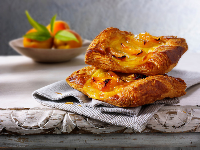 Apricot Danish pastry