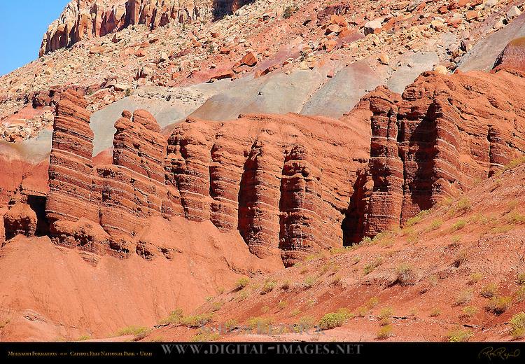 Moenkopi Formation, Capitol Reef National Park, Utah
