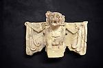Coma Zotz or Killer bat, emblem of the ancient Mayan city of Copan, Sculpture Museum, Copan, Honduras