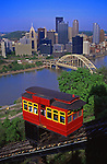 Pittsburgh Skyline, Duquesne Incline, PA
