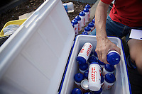 bottle management<br /> <br /> GP Impanis 2014