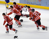 Cody Hodgson (Canada - 18), Alex Pietrangelo (Canada - 10), Chet Pickard (Canada - 31), Brett Sonne (Canada - 12), Cody Goloubef (Canada - 17) - Canada defeated Sweden 5-1 (2 en) in the 2009 World Junior Championship gold medal game on Monday, January 5, 2009, at Scotiabank Place in Kanata (Ottawa), Ontario.  This was the second consecutive year that Canada won gold and Sweden won silver after Canada defeated Sweden in overtime in 2008 and was Canada's fifth consecutive gold.