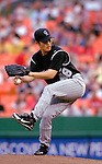 14 June 2006: Byung-Hyun Kim, pitcher for the Colorado Rockies, on the mound against the Washington Nationals in Washington, DC. The Rockies defeated the Nationals 14-8 in front of 24,273 fans at RFK Stadium...Mandatory Photo Credit: Ed Wolfstein Photo...