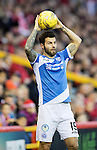 Aberdeen v St Johnstone&hellip;10.12.16     Pittodrie    SPFL<br />Richie Foster<br />Picture by Graeme Hart.<br />Copyright Perthshire Picture Agency<br />Tel: 01738 623350  Mobile: 07990 594431