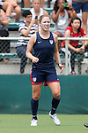 19 August 2014: Meghan Klingenberg. The United States Women's National Team held a public training session at WakeMed Stadium in Cary, North Carolina.