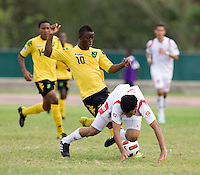 Jason Wright, Eric Francisco. Panama defeated Jamaica, 1-0, during the third place game of the CONCACAF Men's Under 17 Championship at Catherine Hall Stadium in Montego Bay, Jamaica.