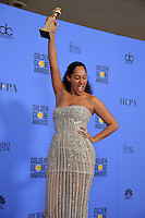 Tracee Ellis Ross at the 74th Golden Globe Awards  at The Beverly Hilton Hotel, Los Angeles USA 8th January  2017<br /> Picture: Paul Smith/Featureflash/SilverHub 0208 004 5359 sales@silverhubmedia.com