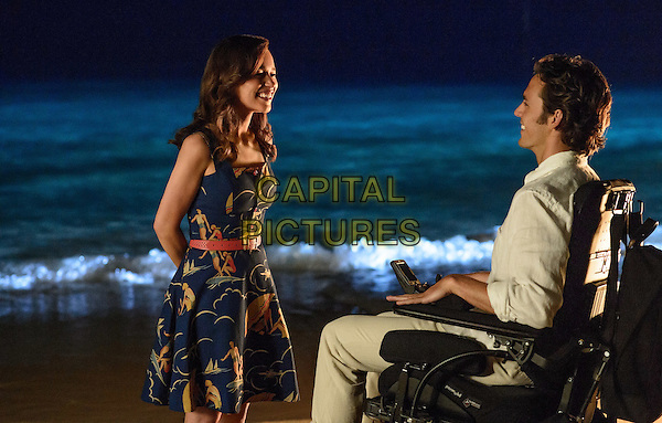 Me Before You (2016)<br /> Emilia Clarke &amp; Sam Claflin <br /> *Filmstill - Editorial Use Only*<br /> CAP/KFS<br /> Image supplied by Capital Pictures