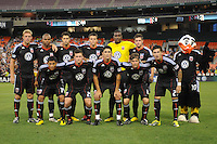 DC United team photo.  FC. Dallas defeated DC United 3-1 at RFK Stadium, Saturday August 14, 2010.