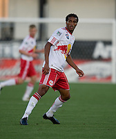 Roy Miller of the Red Bulls in action during the game against the Earthquakes at Buck Shaw Stadium in Santa Clara, California.  San Jose Earthquakes defeated New York Red Bulls, 4-0.