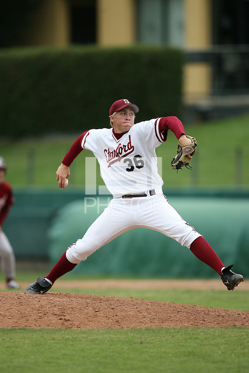 15 October 2006: Andrew Clauson in the annual alumni game at Sunken Diamond in Stanford, CA.