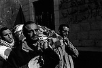 BETHLEHEM 13/03/2008: Funeral held for four Palestinian militants assassinated by the IDF