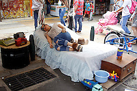 """People take part 32th during the annual  """"World Day of laziness"""" in Itagui, Colombia, on August 14, 2016. The festival is a social and cultural event (Photo by Fredy Builes / VIEWpress)"""