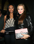 Miss USA 2012 NANA MERIWETHER AND ELIANN'S CREATIVE DIRECTOR ANGELIKA STEENOLSON ATTENDS NFL LEGENDS JOE MONTANA & DWIGHT CLARK HONORED AT THE CATCH SUPER BOWL  VIEWING PARTY HELD AT THE EDISON BALL ROOM, NY