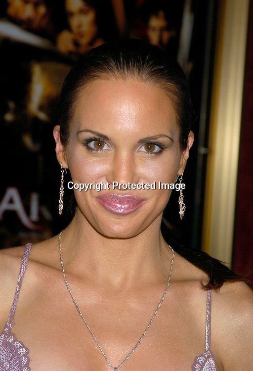 "Tia Texada ..at the World Premiere of ""King Arthur"" on June 28, 2004 at ..the Ziegfeld Theatre. ..Photo by Robin Platzer, Twin Images"
