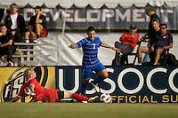 Nike International Friendlies 2010 Development Academy Winter Showcase U-15/16 Academy Select Blue vs Red at Reach 11 Soccer Complex in Phoenix, Arizona on Saturday December 4, 2010.